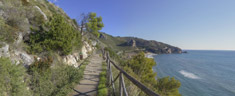 Immagine del virtual tour 'Torre Capovento - vista ruderi'